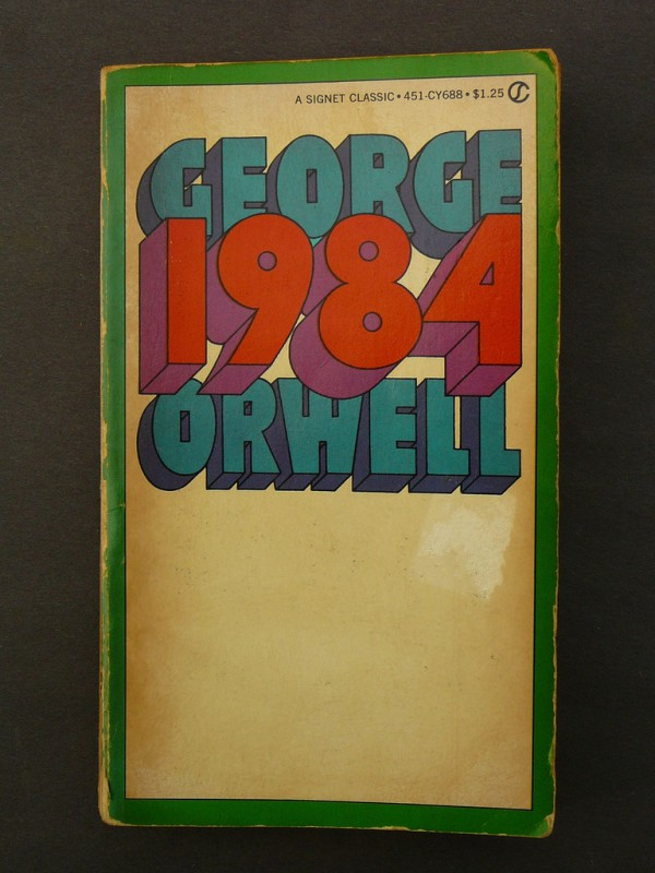 cover George Orwell 1984